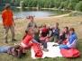 02. 08. 2008 - Dalešická přehrada (Lavičky) - Letní tábor